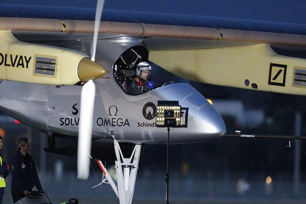 The Solar Impulse has landed in Phoenix, Arizona (AP)