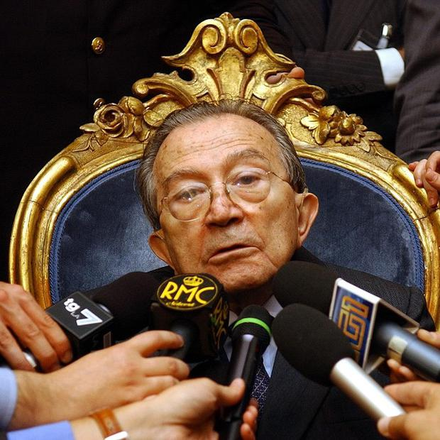 Former Italian prime minister Giulio Andreotti has died aged 94 (AP)