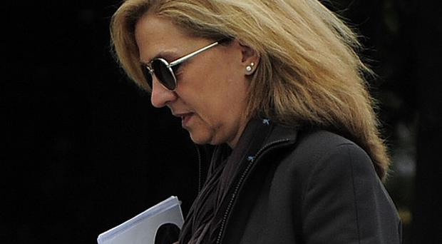 Spain's princess Cristina is no longer a suspect in a fraud case (AP)