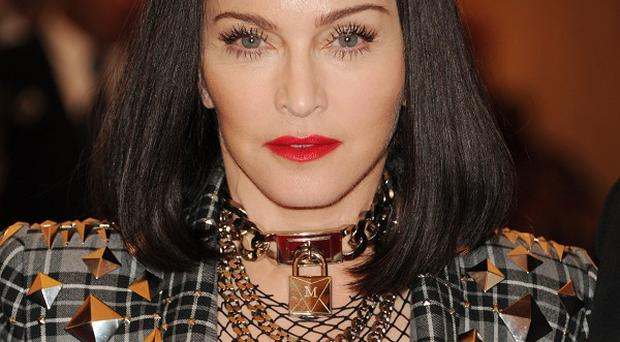 Madonna has raised more than £4 million for charity by selling a painting (AP)