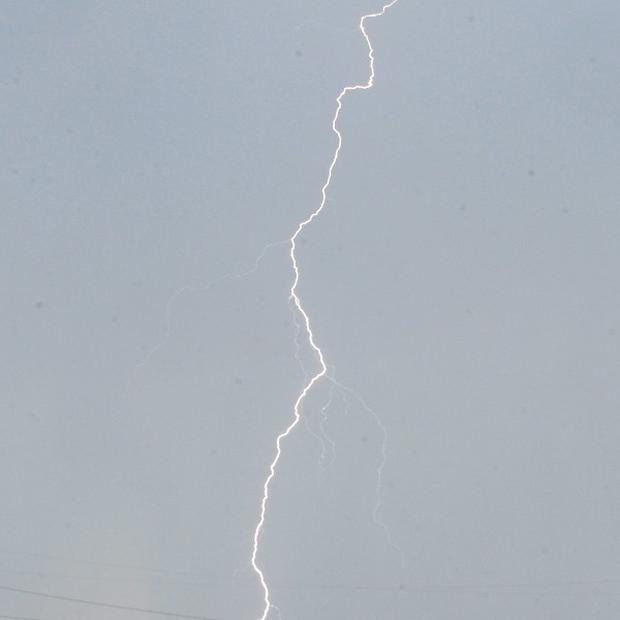 Thirty-nine people have been injured by lightning at a party in eastern Germany