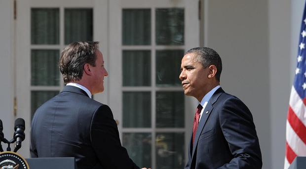 David Cameron is to hold talks with Barack Obama in the White House
