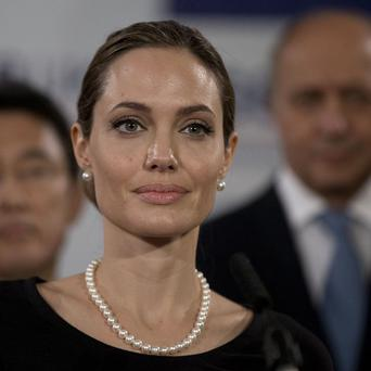 Angelina Jolie said she finished three months of medical procedures on April 27