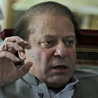 Nawaz Sharif is expected to become prime minister of Pakistan for a third time (AP)