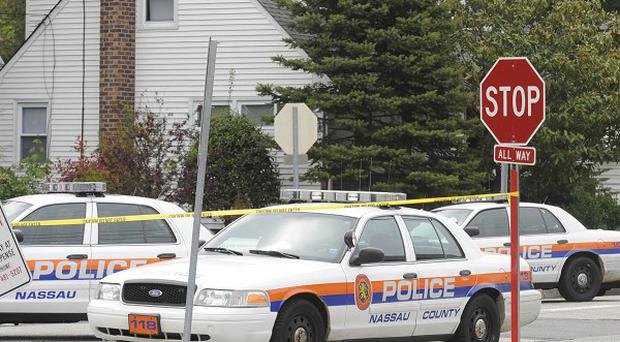 A Nassau County student was shot dead during a stand-off (AP)