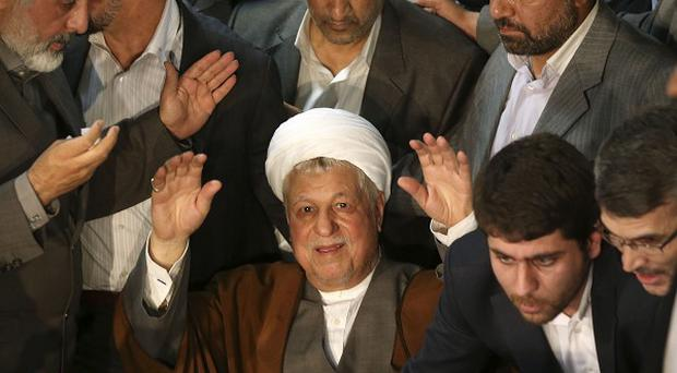 Iranian hard-liners want to block Hashemi Rafsanjani from standing in elections (AP)
