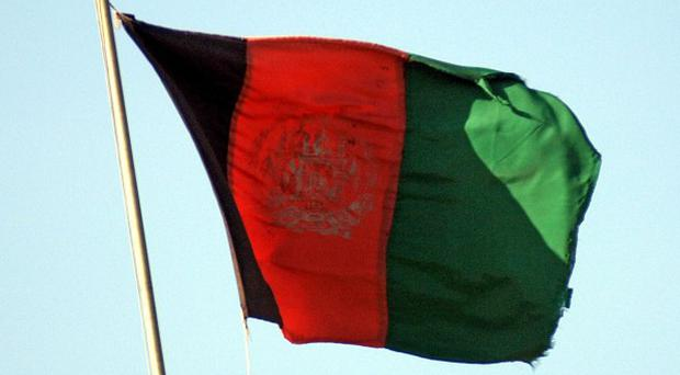 Six policemen have been killed in a bomb attack in west Afghanistan