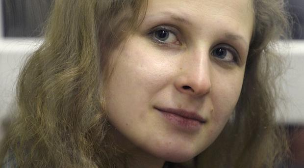 Pussy Riot member Maria Alyokhina has had a parole bid rejected (AP)