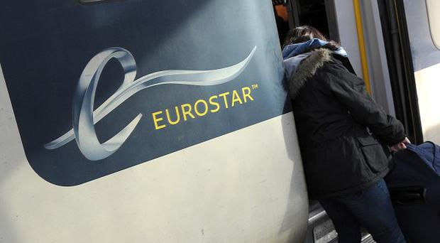 A Eurostar spokesman said 'two or three' services were slightly delayed but operations were running normally