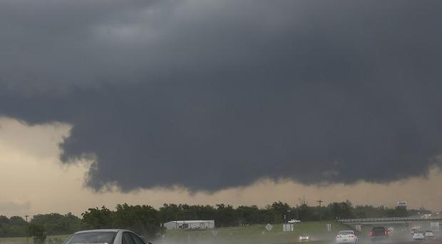 A tornado alert has been issued for parts of Oklahoma (AP)