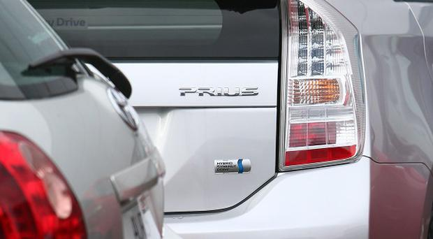 About 233,000 Prius hybrid vehicles are being recalled by Toyota due to braking problems