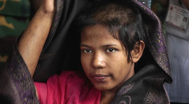 Reshma Begum has left garment factories behind her for good and is now going to work at a hotel (AP)