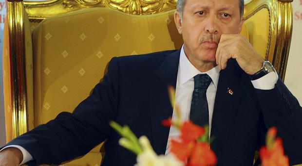 Turkish Prime Minister Recep Tayyip Erdogan says terrorist groups are involved in the unrest in the country (APi)