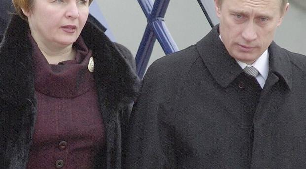Russia's president Vladimir Putin and his wife Lyudmila are getting divorced after nearly 30 years together
