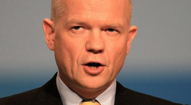 Foreign Secretary William Hague's visit to the US is likely to focus on putting pressure on Bashar Assad's regime in Syria