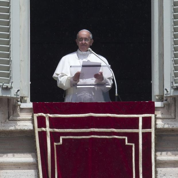Pope Francis allegedly made comments about a 'gay lobby' in the Vatican (AP)