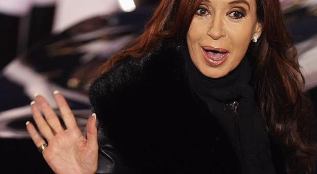 President of Argentina Cristina Fernandez de Kirchner said a train crash had made her feel 'rage'