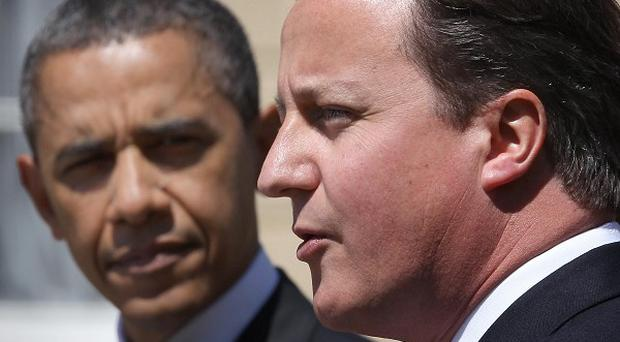Prime Minister David Cameron and US president Barack Obama will meet on Monday