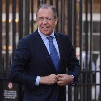 Russian foreign minister Sergei Lavrov has queried evidence put forward by the US over supposed chemical weapons in Syria