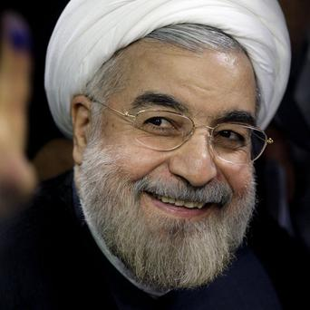 Hasan Rowhani was declared victor in Iran's presidential election (AP)