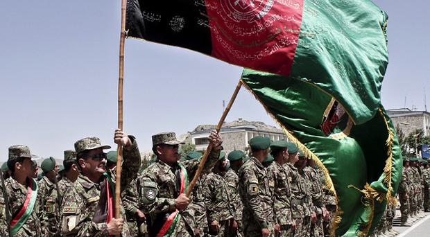 The handover of responsibility for security nationwide to Afghanistan's armed forces marks a turning point for Nato military forces