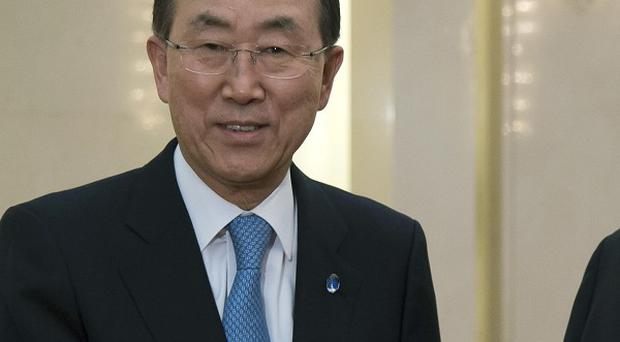 UN Secretary-General Ban Ki-moon has warned of new threats facng the organisation (AP)
