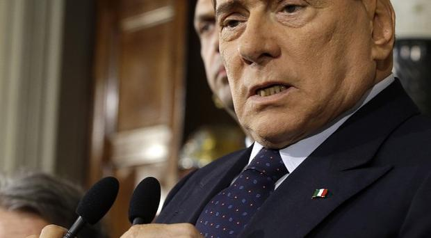 Berlusconi was sentenced to seven years in prison and barred from public office for life