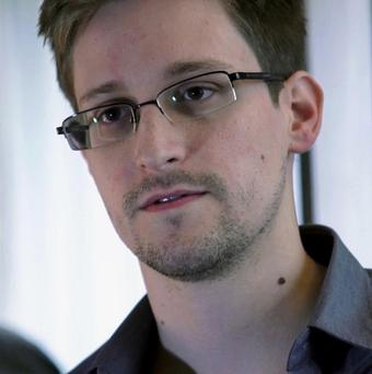 US Fugitive Edward Snowden has sought asylum in 21 countries, including Ireland. (AP/The Guardian)
