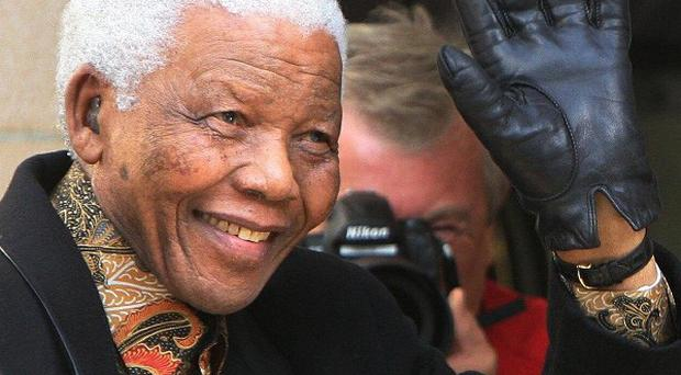 Nelson Mandela is in a critical condition in a South African hospital