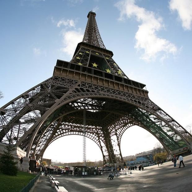 Paris landmark The Eiffel Tower has closed for a day because of a strike by staff