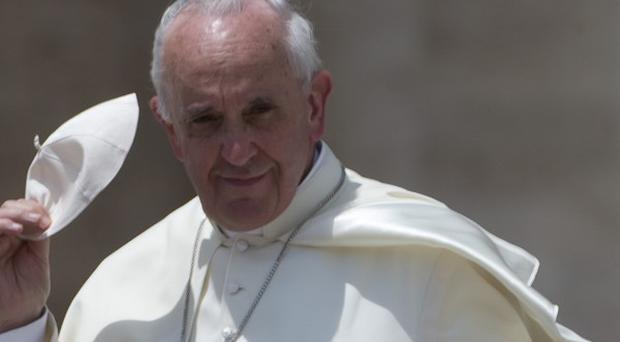 The pope has ordered an inquiry into the Vatican Bank (AP)