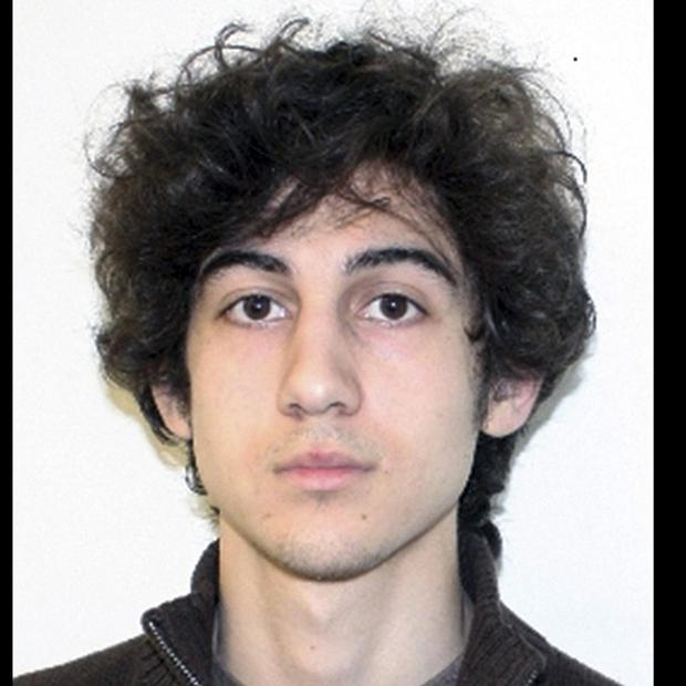 Dzhokhar Tsarnaev faces charges including using a weapon of mass destruction and bombing a place of public use, resulting in death (FBI/AP)