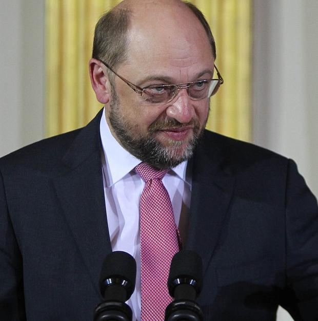 European Parliament president Martin Schulz said he was 'deeply worried and shocked about the allegations of US authorities spying on EU offices'