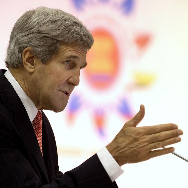 US Secretary of State John Kerry says he does not know details of the bugging claims (AP)
