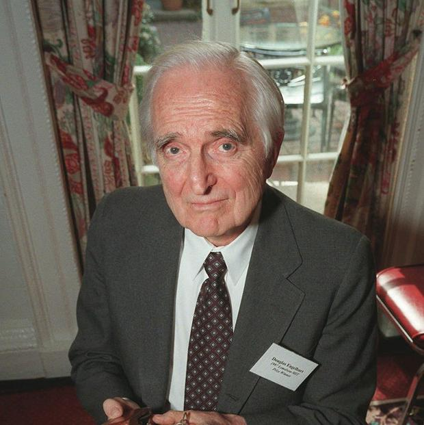 Doug Engelbart inventor of the computer mouse (AP/Michael Schmelling)