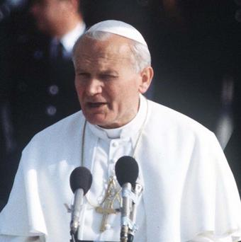 Pope Francis has canonized John Paul II, who died in 2005