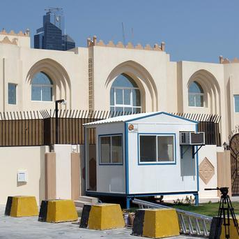 The Taliban has closed its recently opened office in Doha, Qatar (AP)