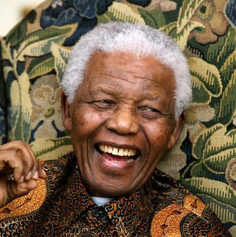 South Africa's president has said Nelson Mandela is responding to treatment
