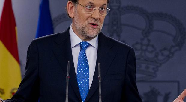 Spanish prime minister Mariano Rajoy has come under pressure to resign (AP)