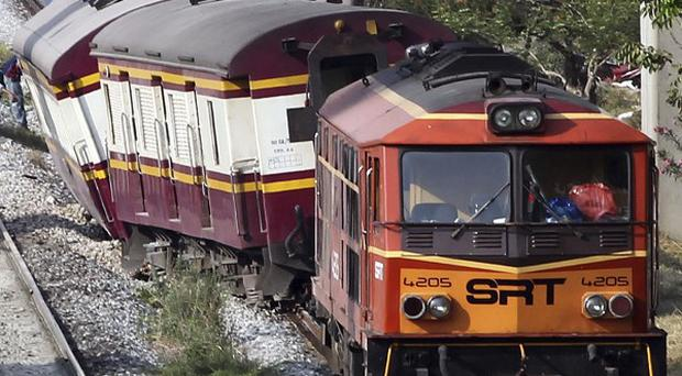 The Bangkok to Chiang Mai route has seen another derailment (AP Photo/Apichart Weerawong)