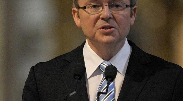 Australian PM Kevin Rudd has signed an agreement that will enable Australia to deport refugees arriving by boat to Papua New Guinea