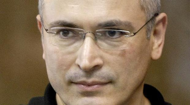 The European Court of Human Rights has rejected claims that tycoon Mikhail Khodorkovsky was prosecuted for political reasons (AP)