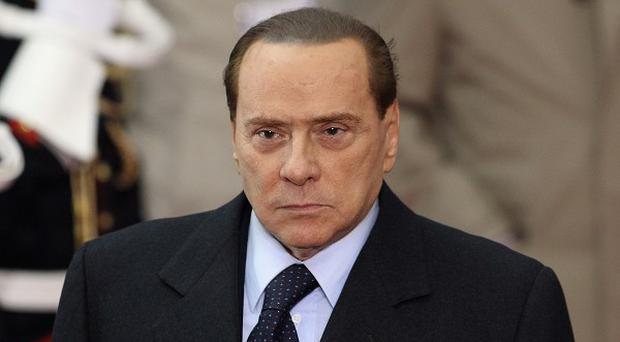 Former Italian PM Silvio Berlusconi Berlusconi was convicted of tax fraud in a complex TV rights transaction for his Mediaset network