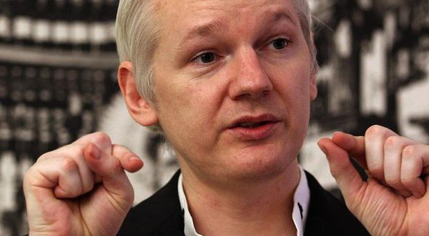 WikiLeaks founder Julian Assange has condemned the decision to find Bradley Manning guilty