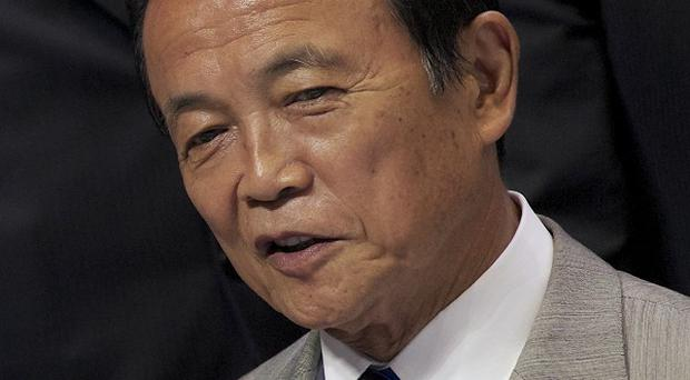 Minister of Finance Taro Aso drew outrage for a remark that Japan should study how the Nazi party stealthily changed Germany's constitution (AP)