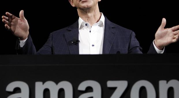 Amazon founder and CEO Jeff Bezos. The company brings in brings in $5 billion a year from web services business (AP Photo)