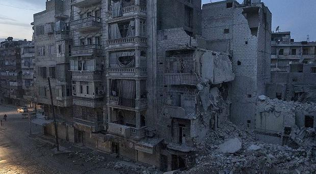 A Syrian rebel-controlled area (AP)
