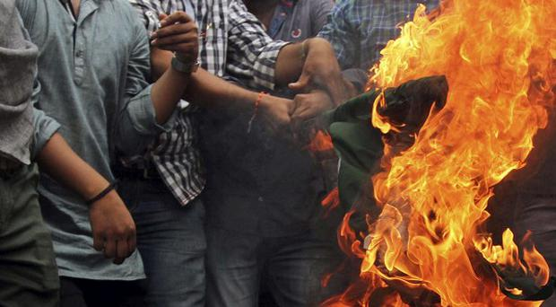 Tensions have been running high in Kashmir in recent days (AP)
