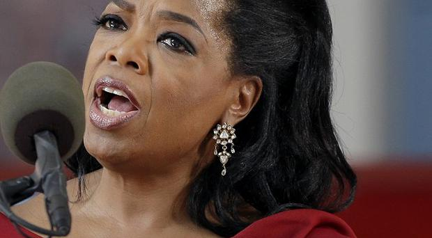 Oprah Winfrey says she was the victim of racism while shopping in Switzerland (AP)