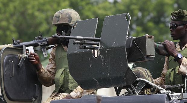 Thousands of troops were sent into northeastern Nigeria after a state of emergency was declared mid-May(AP/Sunday Alamba)